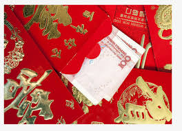 new year dollar bill bag in the hundred dollar bills envelopes new year s