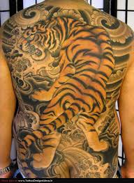 japanese back tattoo japanese tiger tattoo on back body