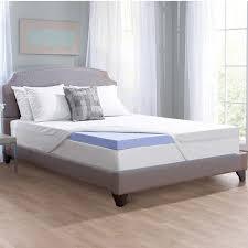 novaform serafina collection 3 u201d gel memory foam mattress topper