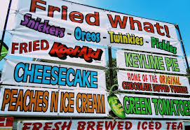 Strange state fair foods at illinois state fair countries to travel