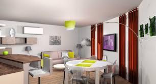 decoration salon cuisine decoration cuisine americaine salon ouverte ou semi avec verriere et
