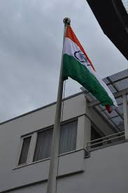 Flag Of Oslo As I Celebrate Indian Independence Day In Oslo On August 15