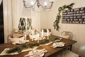 night time christmas dining room tour mrs rollman blog