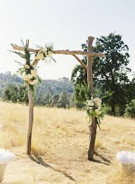 wedding arches made from trees 12 alternative altars altars pearls and flowers