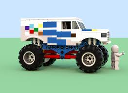 monster truck power wheels grave digger lego ideas monster jam ice cream man vs grave digger