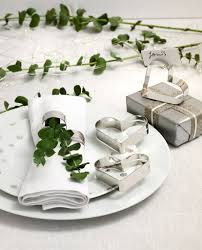 how to set a table with napkin rings set of four napkin rings place card holders by retreat home