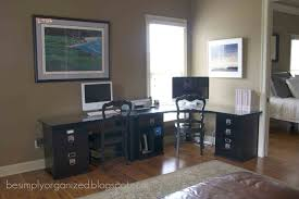 Pottery Barn Home Office Furniture Our Home Office Simply Organized