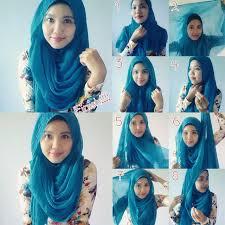 simple hijab styles tutorial segi empat easy loose hijab styles step by step girls hijab style hijab