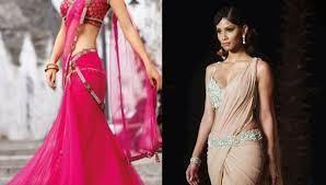 Lehenga Style Saree Draping 12 Elegant Saree Draping Styles For Skinny Women New Love Times