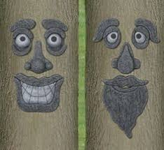 tree decorations fillers tree faces garden
