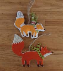272 best fox decor ornaments cards and wrapping paper