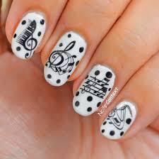 music note nail art gallery nail art designs