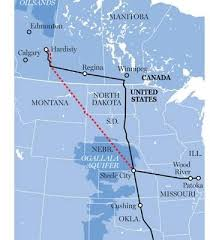 keystone xl pipeline map donald approves transcanada s keystone xl pipeline wespro