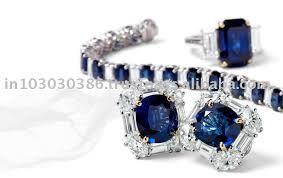 blue sapphire necklace set images Blue sapphire jewellery set buy blue sapphire jewellery set jpg
