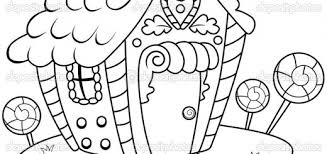 gingerbread house candy coloring pages coloring pages ideas