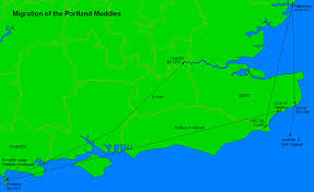 Portland Australia Map by The Muddle Families Lineage And History Dorset Portland