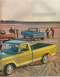Old Ford Truck Brochures - 1973 ford pickups sales brochure ford truck fanatics