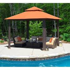 10 X 10 Pergola by Outdoor Permanent Gazebo Large 10x10 Patio Pergola Style Sun Shade
