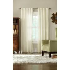 Living Room Curtains Silk Martha Stewart Living Semi Opaque Heavy Cream Faux Silk Room