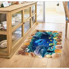 high quality paper wall murals ocean promotion shop for high 3d fish ocean world floor sticker wall decal home paper picture diy mural kid nursery baby living room decoration