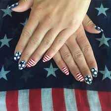 american flag nail art and designs ladylife
