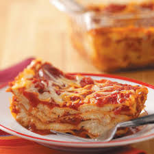 Meat Lasagna Recipe With Cottage Cheese by Simple Lasagna Recipe Taste Of Home