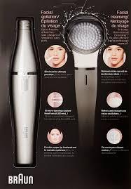 amazon com braun face 830 mini electric hair removal