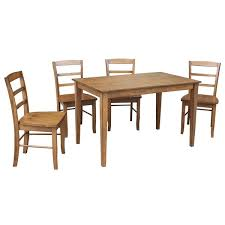 30 x 48 dining table international concepts 30 x 48 dining table with 4 madrid chairs