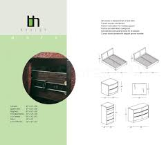 Bedroom Set Handles Sale 2230 00 Maya 5 Pc Solid Wood Platform Bedroom Set In