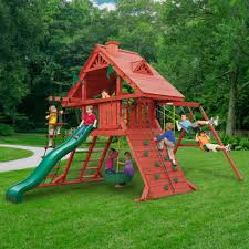 swing set kits chill u0027n swing swing set accessories and wooden