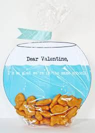 fish valentines make fish bowl s card