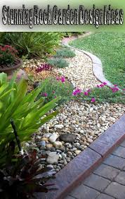 rocks in garden design corner stunning rock garden design ideas corner