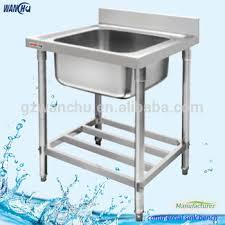 Singel Bowl Outdoor Stainless Steel Laundry Sink Hans Kitchen - Restaurant kitchen sinks
