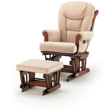 Glider Rocker With Ottoman Ottoman Appealing Glider Rocker Replacement Cushions Astonishing