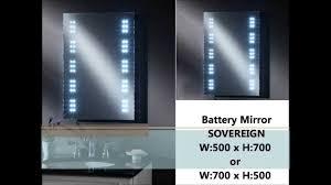 led bathroom mirrors youtube
