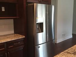 kitchen cabinet countertop depth refrigerator dilemma counter depth or standard at end of