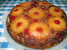 moist and crunchy pineapple upside down cake recipe by angela