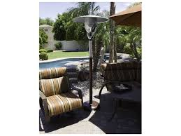 Patio Heater Heat Shield by Az Patio Heaters Natural Gas Hammered Bronze Heater Ng Hb