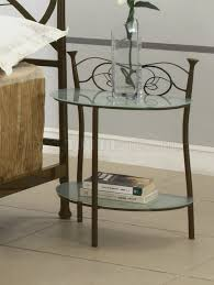 nightstand appealing glass coffee table sets raw wood oval round