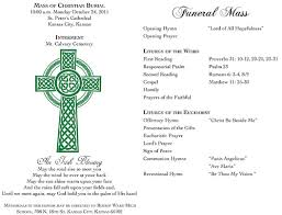 Funeral Programs Wording 8 Best Images Of Catholic Funeral Program Wording Sample