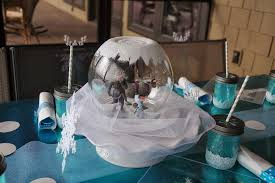 frozen centerpieces disney s frozen birthday party ideas photo 9 of 36 catch my party