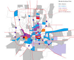 Zip Code Map Columbus Ohio by Murder All Columbus Ohio Data