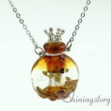 round pendants necklace images Essential oil necklace diffusers perfume pendants perfume vials jpg