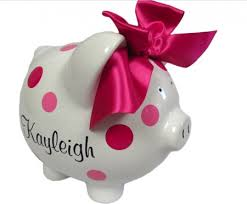 personalised piggy bank personalized piggy bank unique gift ideas and personalised gifts