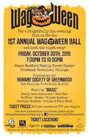 wag o ween halloween charity ball friday october 30 7p to 10p