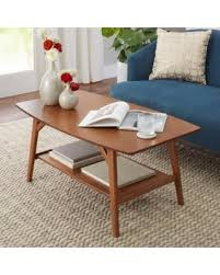 mid modern coffee table amazing deal on better homes and gardens reed mid century modern