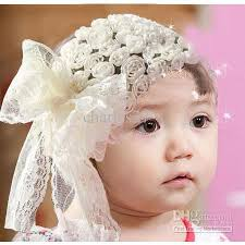 band baby new baby headband big bowknot flower hairband princess baby hair