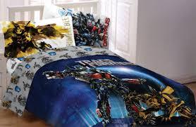 bumble bee home decor transformer bedding set 100 cotton cartoon optimus prime bumblebee