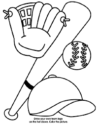 special baseball coloring pages for kids book 817 unknown