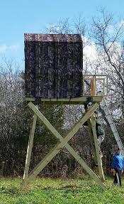 Deer Blind Elevators Box Stand Legs 4x4 Or Multiple 2x4 U0027s